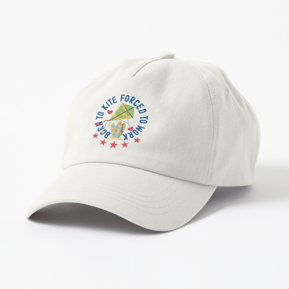 Born To Kite Forced To Work Kite and Surfing Lover Cap
