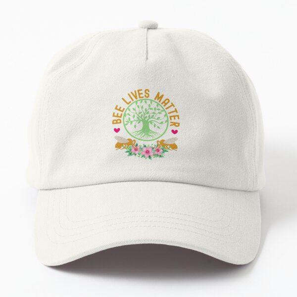 We The Free Honey Bee Lives Matter Beekeeper Outfit Dad Hat