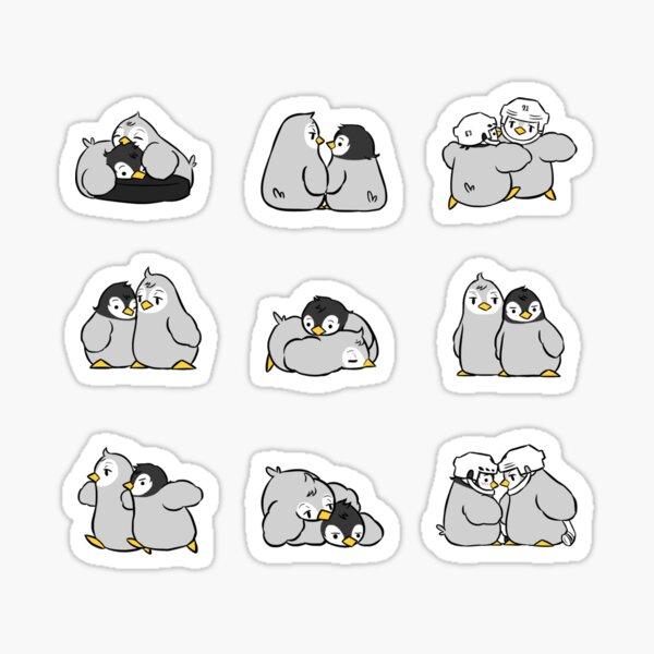 baby penguin print Sticker