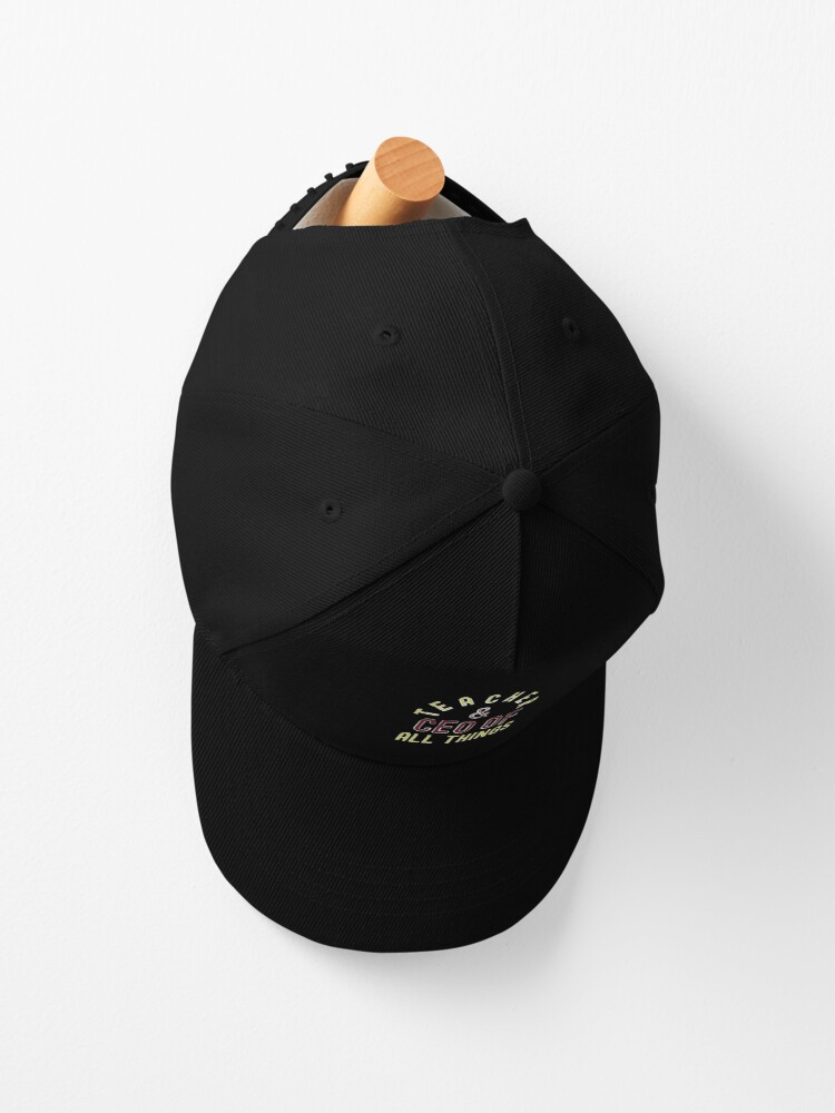 Alternate view of Teacher & CEO Of All Things High Ego Smartest Nerdy Cap