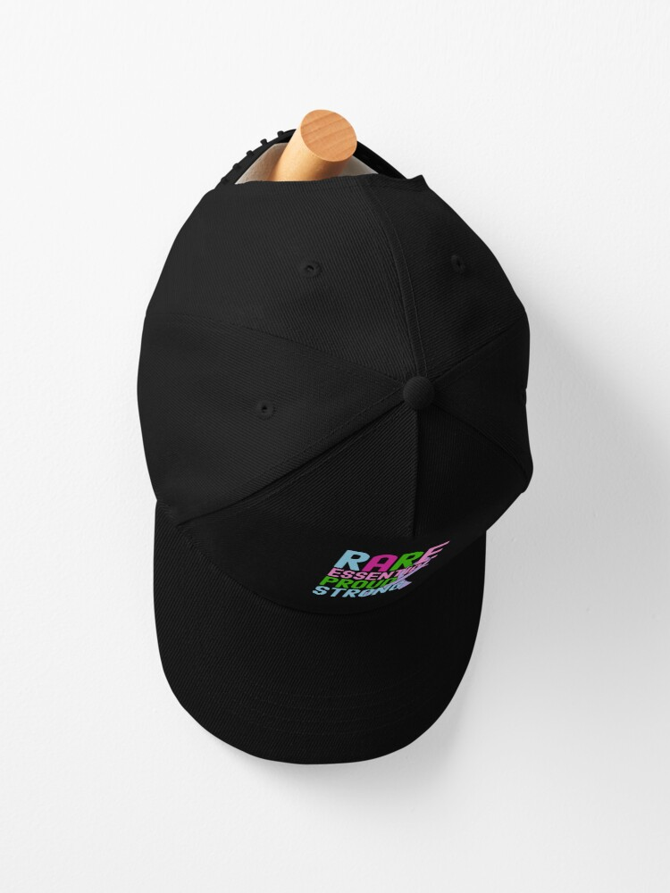 Alternate view of Rare Disease Day Essential Proud Strong People Awareness Cap
