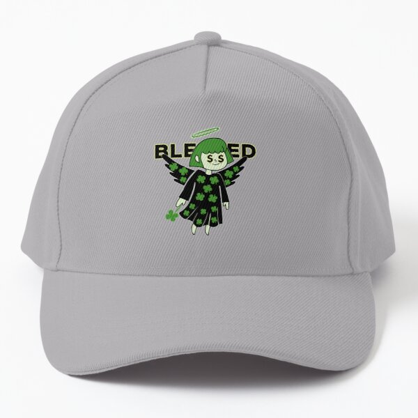 Lucky Clover Blessed Angel - Good Luck Charm Baseball Cap