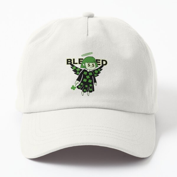 Lucky Clover Blessed Angel - Good Luck Charm Dad Hat