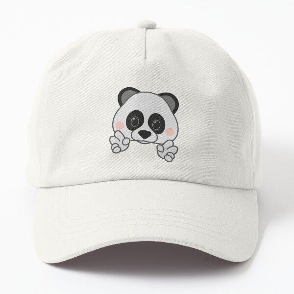 panda emoji fan art Dad Hat
