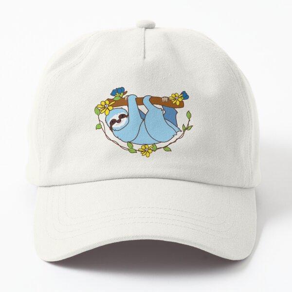 blue sloth emoji fan art  Dad Hat