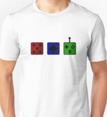 Gaming Tokens Design - Color T-Shirt