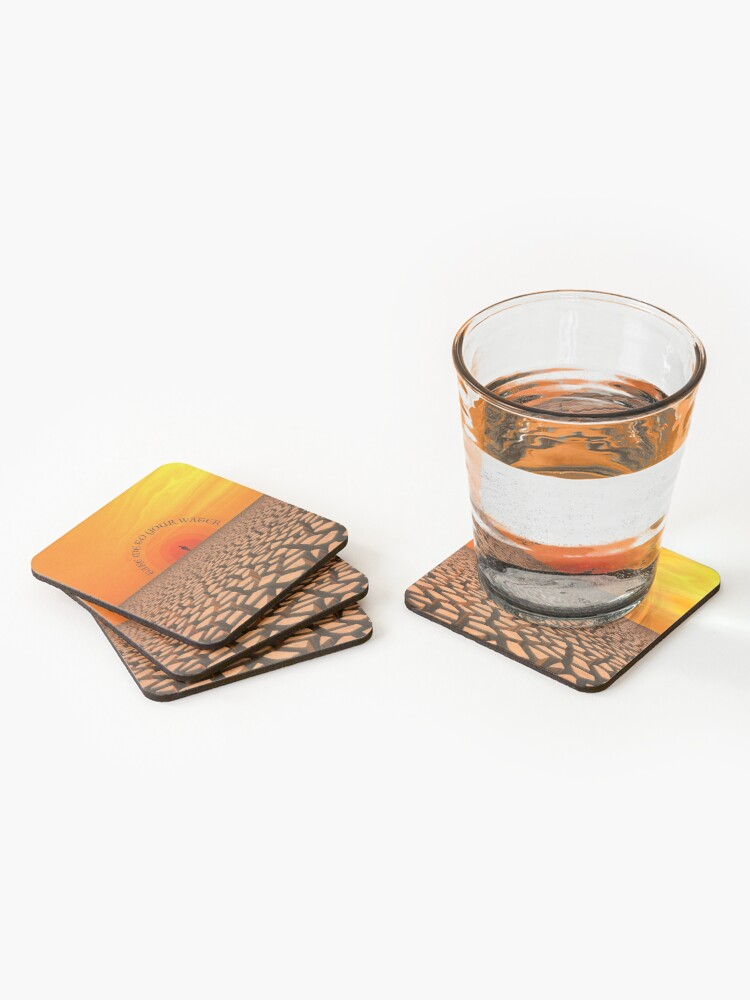 Alternate view of Parched Desert Coasters (Set of 4)
