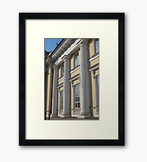 Palace facade with columns Framed Print