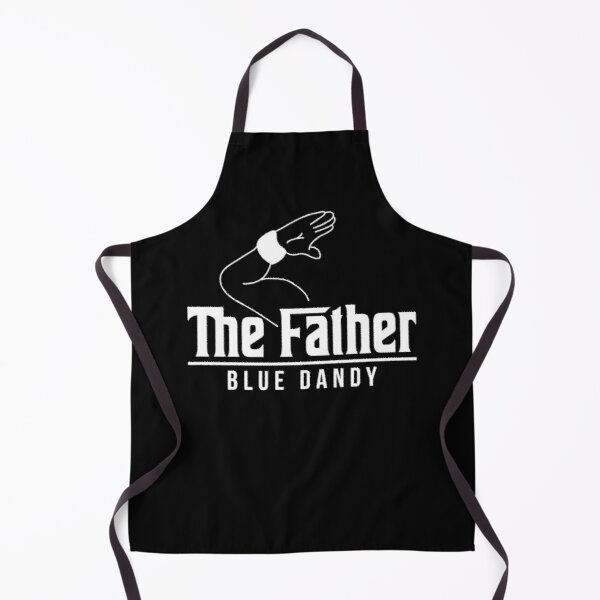 The father blue dandy Apron