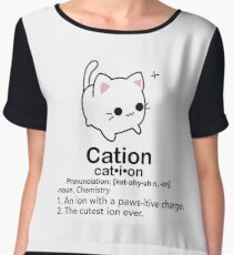 Cation  Chiffon Top