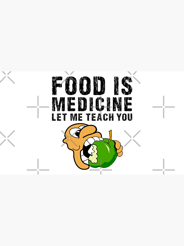 Food is medicine, gift for Dietician, Nutritionist, Naturopath. Let me teach you by CWartDesign