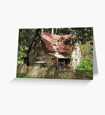 The Olde Gardener's Cottage Greeting Card