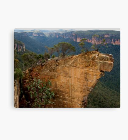 Hanging Rock, Blackheath Canvas Print