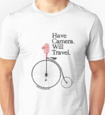 Have Camera Will Travel Alt Version T-shirts & Gifts Unisex T-Shirt