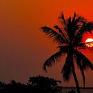 Sunset in Zanzibar by Nasibu Mwande