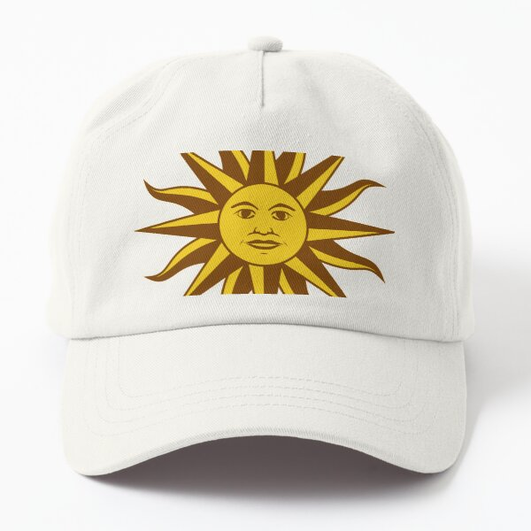 Sun with a face Dad Hat