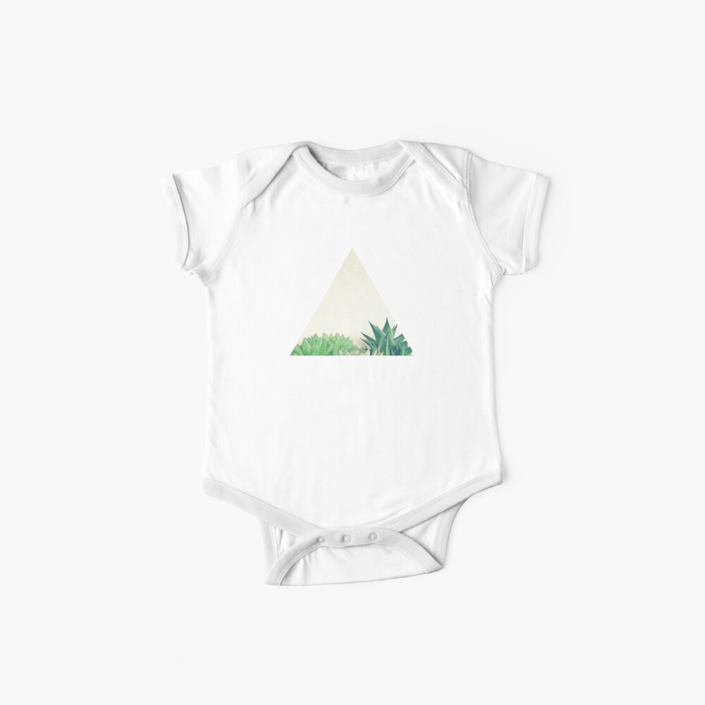 Succulent Forest Baby One-Piece
