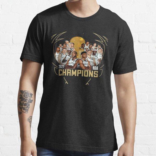 M i l w a u k e e b u c k s champs 2021 Essential T-Shirt