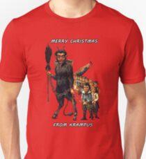 Frohe Weihnachten ... Von Krampus Unisex T-Shirt