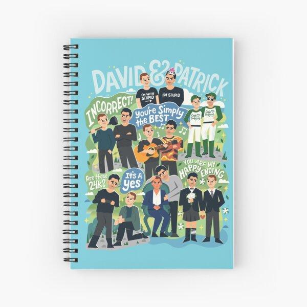 D&P Collage Spiral Notebook