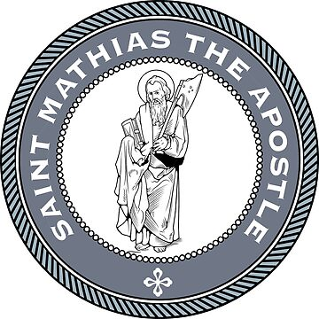 ST MATTHIAS THE APOSTLE MEDALLION by CatholicSaints