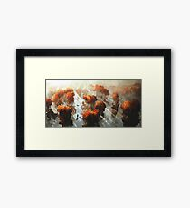 Flying in Autumn Framed Print