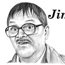 Mark Heap plays Jim  by Margaret Sanderson