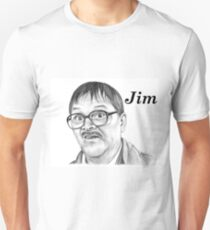 Mark Heap plays Jim  Unisex T-Shirt