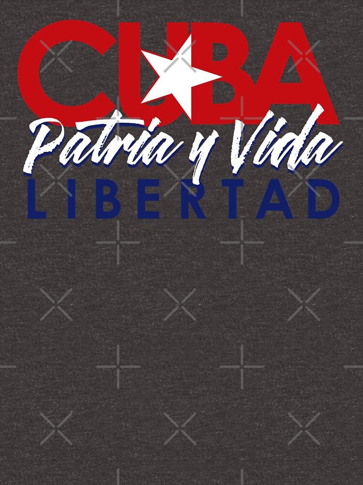 CUBA - Patria y Vida V2. by ArtistaShop