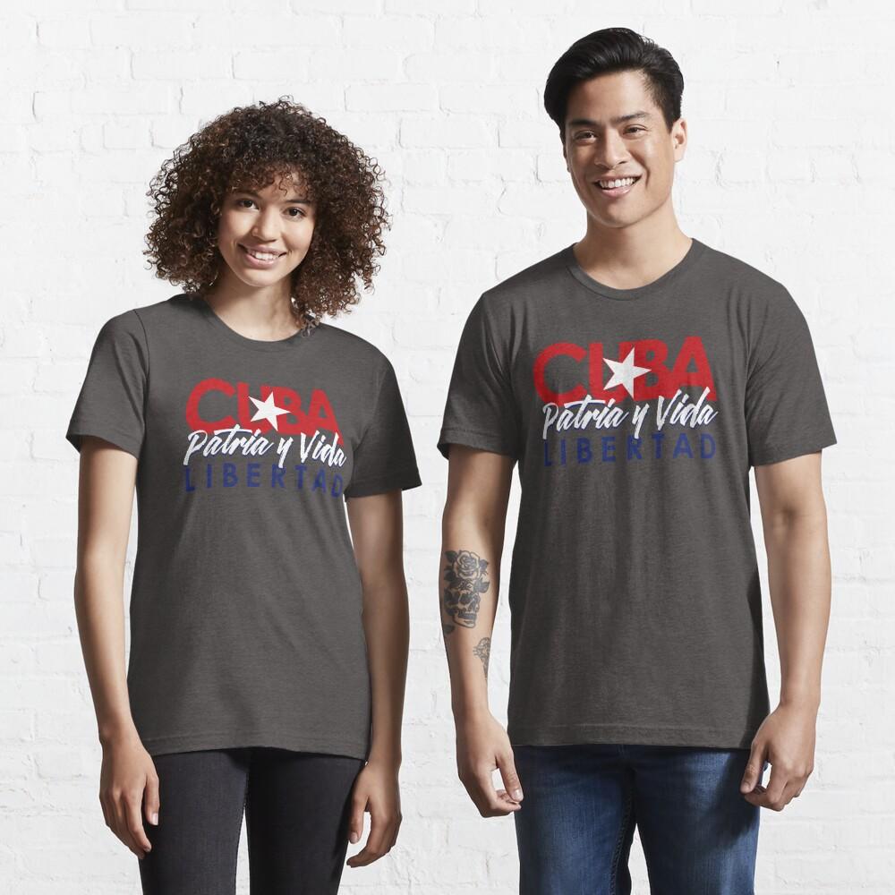 CUBA - Patria y Vida V2. Essential T-Shirt