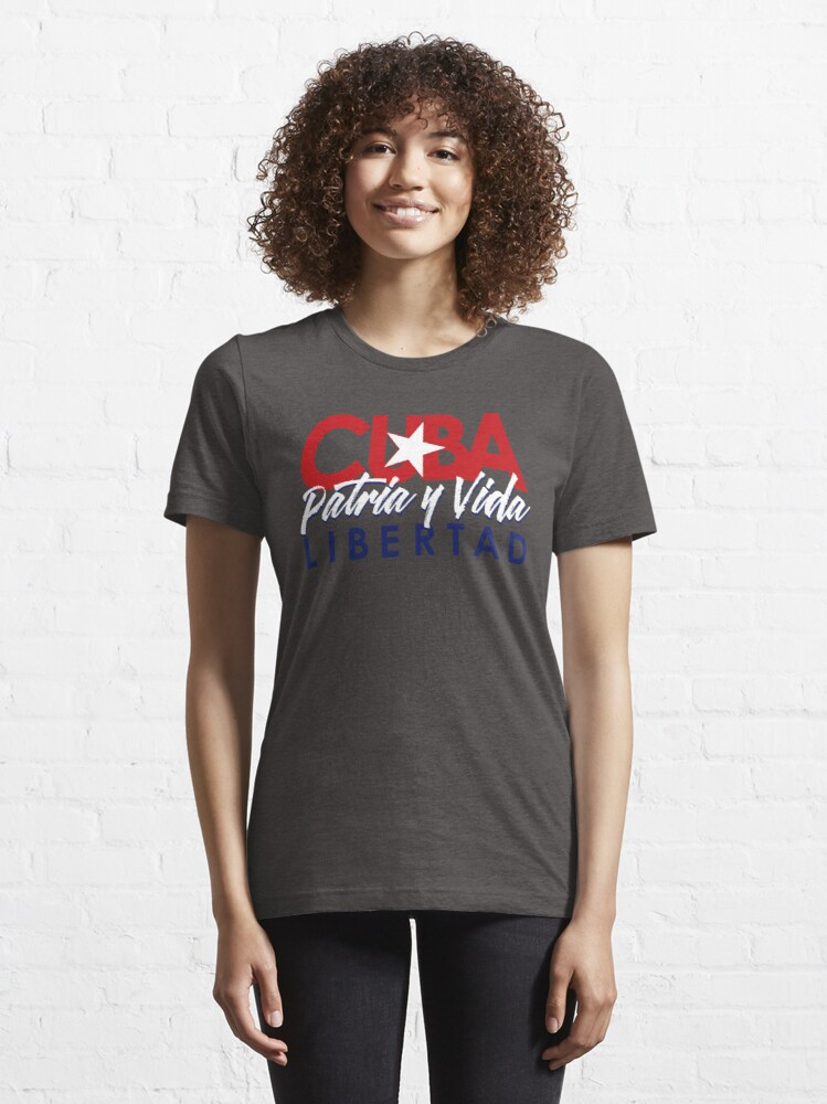 Alternate view of CUBA - Patria y Vida V2. Essential T-Shirt