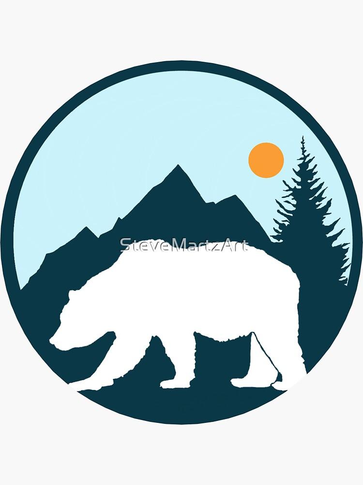 Bear Mountain by SteveMartzArt