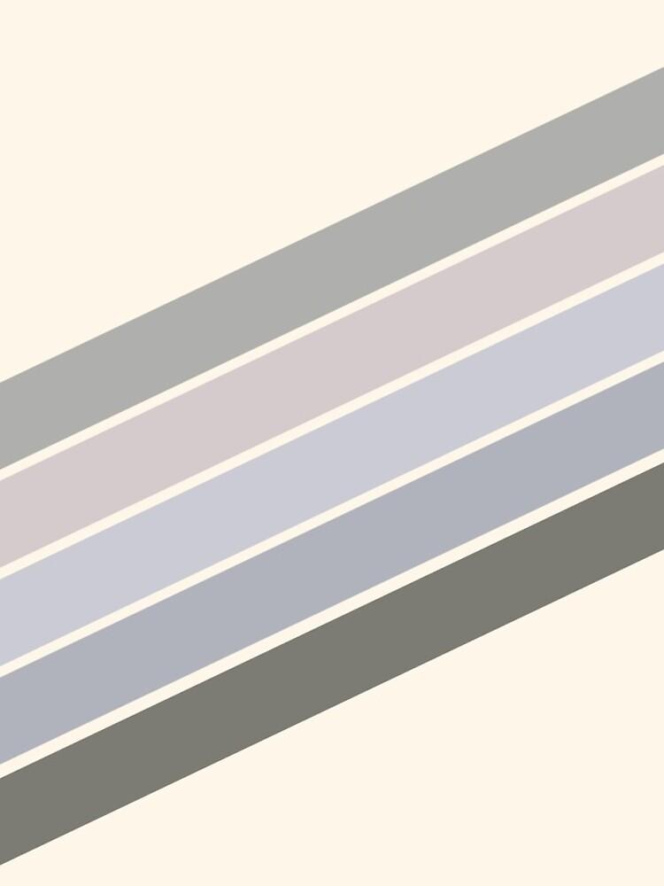 RETRO GRAY beige RAINBOW  by Seatzy