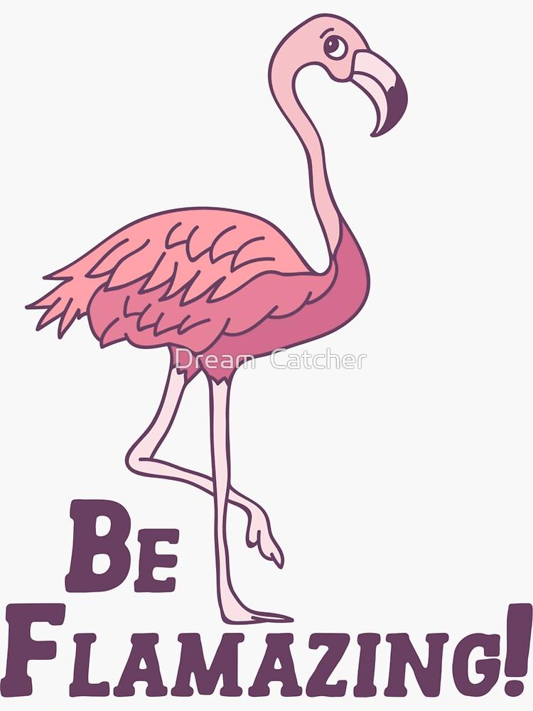 Cute flamingo design by RGJUN