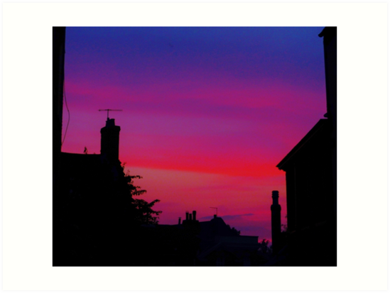 Red Sky - Unique Photography by Vincent J. Newman