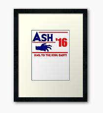 Ash-Evil Hand 2016! Evil Dead Design  Framed Print