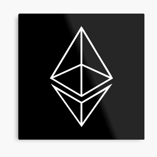Best Selling - Ethereum Merchandise Metal Print