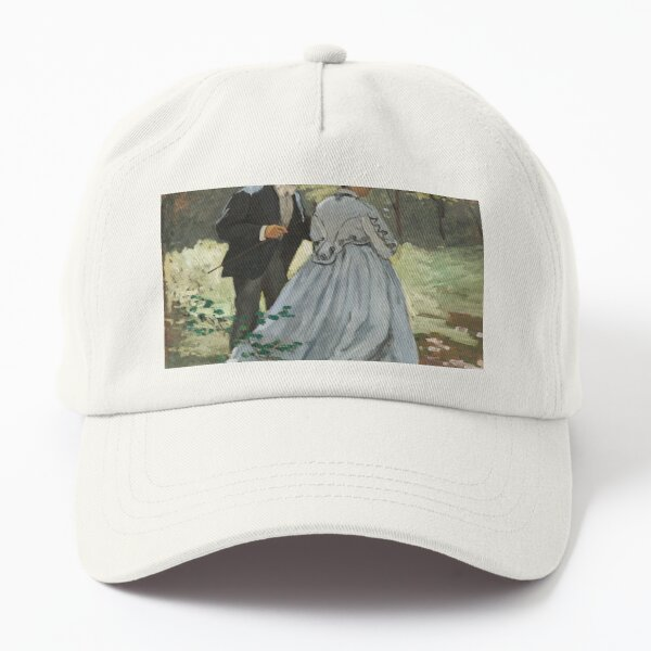 Bazille and Camille (1865) by Claude Monet Dad Hat