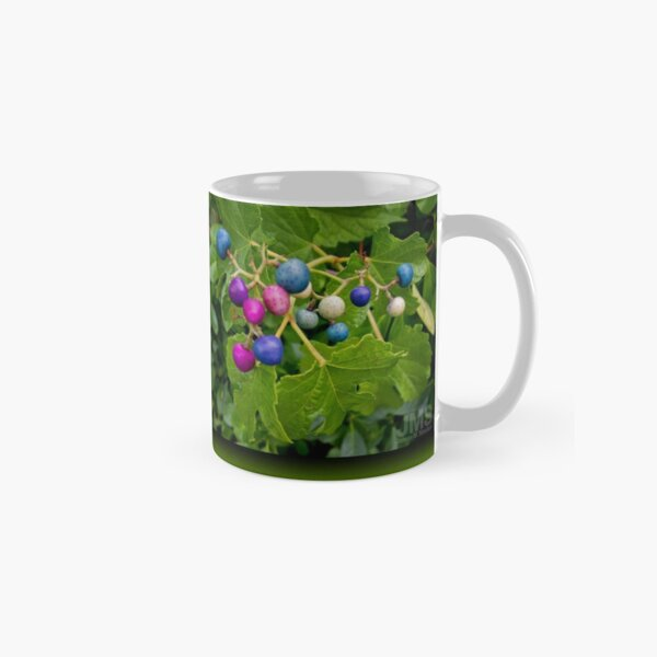 Colorful Berries in Green Foliage Classic Mug