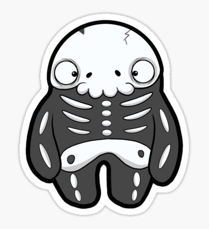 Creepies - Skelly Sticker