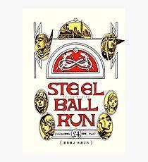 Lámina fotográfica Steel Ball Run