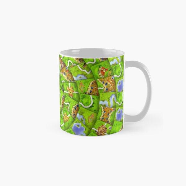 Carcassonne swirl Classic Mug