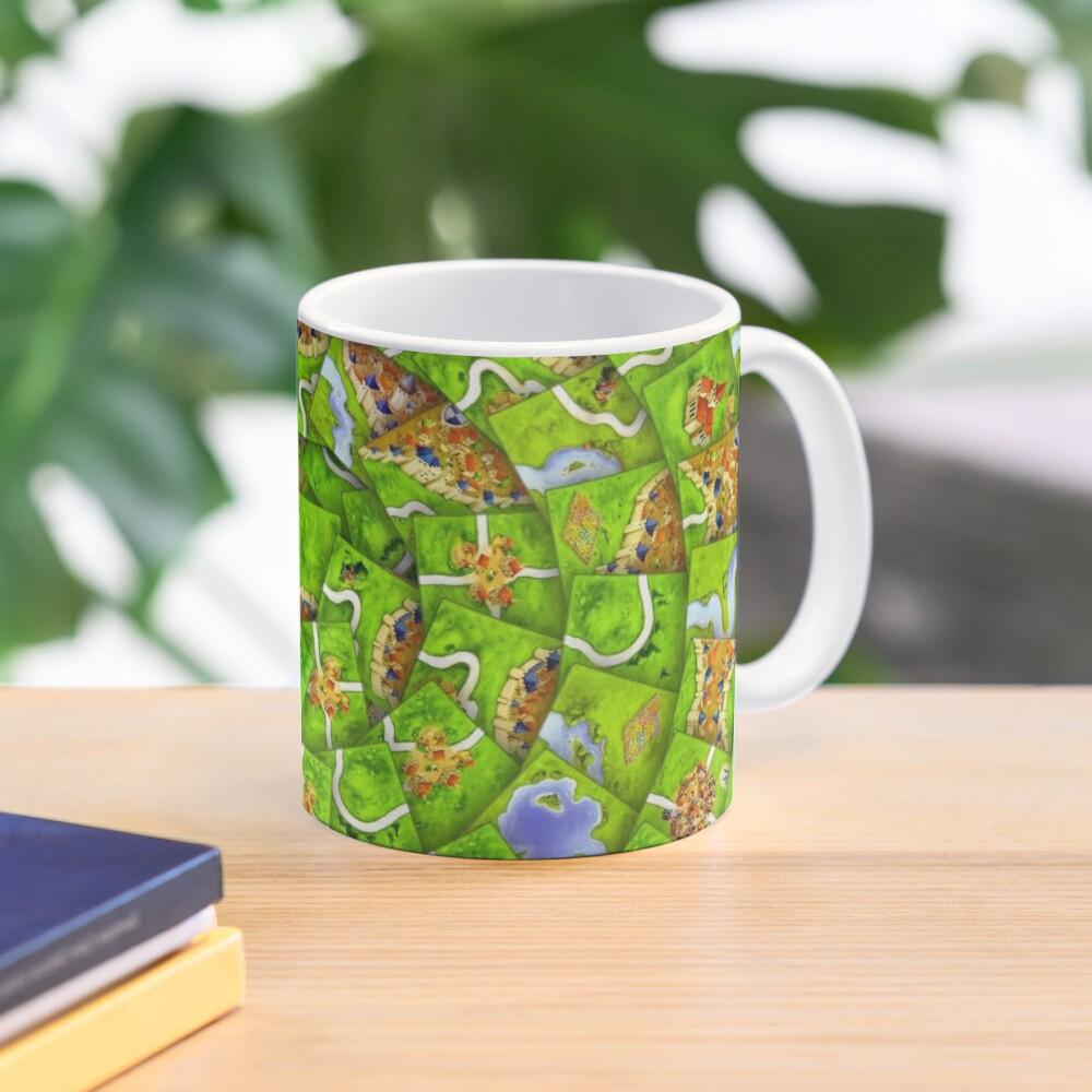Carcassonne swirl Mug