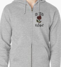 Dead rose Zipped Hoodie