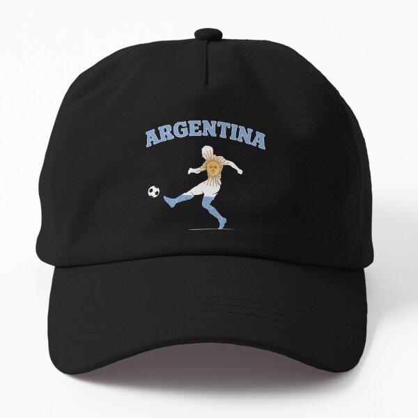 Argentina flag soccer ball Dad Hat