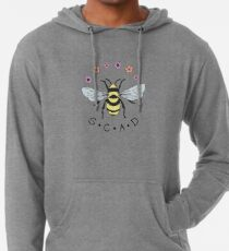 Art the Bee from Savannah College of Art and Design Lightweight Hoodie