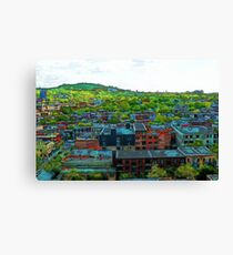 Montreal Suburb Canvas Print