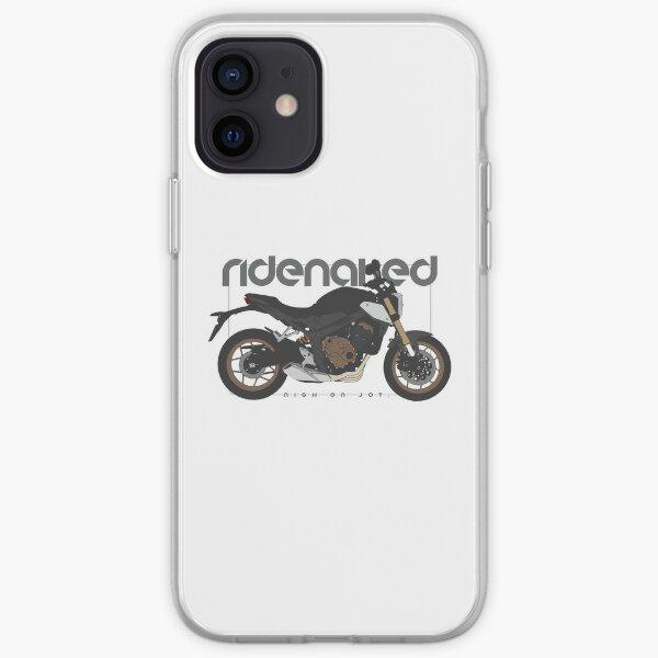 Ride Naked black 650 iPhone Soft Case