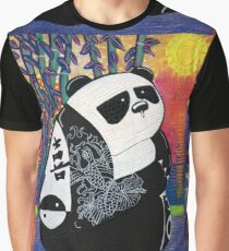 Panda Zen Master Graphic T-Shirt