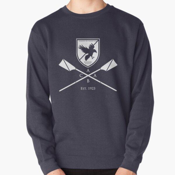 Aglionby Academy Boat Club, White Pullover Sweatshirt